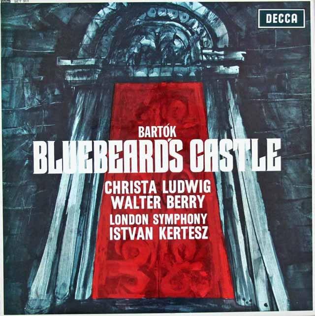 ケルテスのバルトーク/「青ひげ公の城」   英DECCA 3393 LP レコード