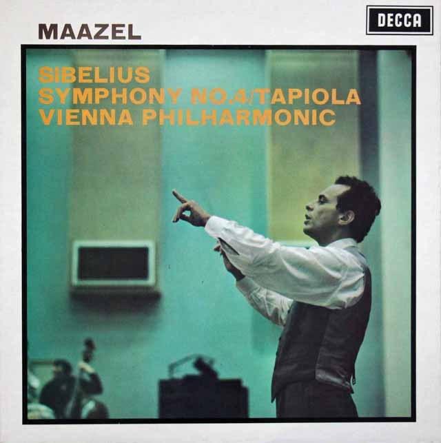 マゼールのシベリウス/交響曲第4番   英DECCA 3393 LP レコード