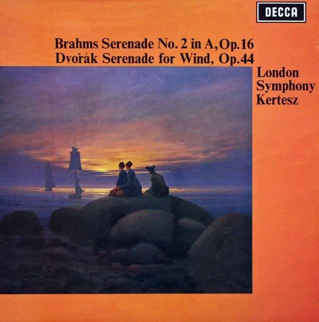 ケルテスのブラームス/セレナード第2番ほか   英DECCA 3007 LP レコード