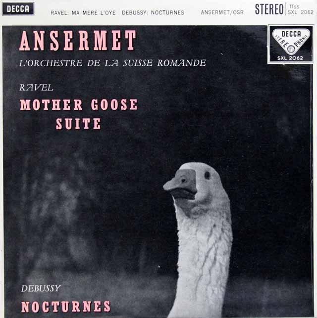 アンセルメのラヴェル/「マ・メール・ロワ」ほか  英DECCA 3393 LP レコード