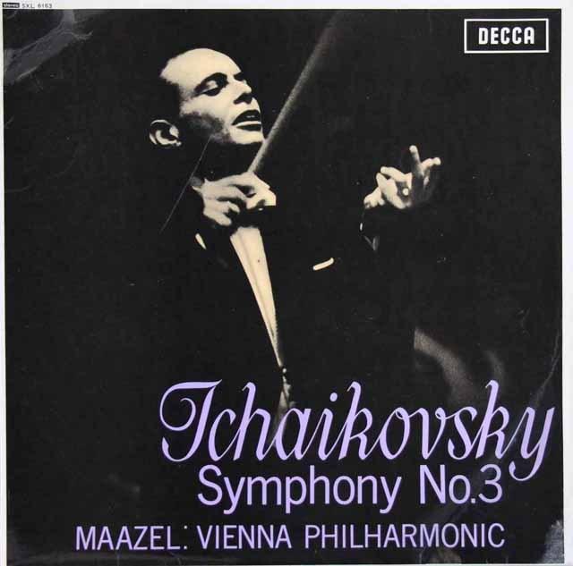 マゼールのチャイコフスキー/交響曲第3番「ポーランド」  英DECCA 3393 LP レコード