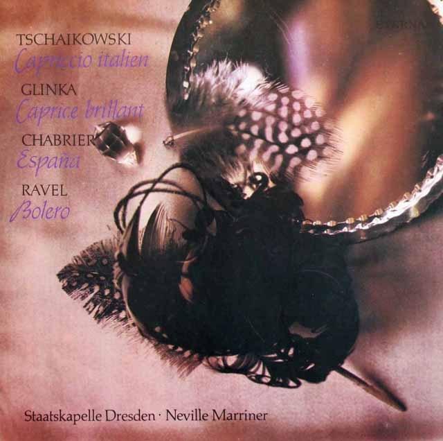 マリナーのラヴェル/ボレロほか 独ETERNA 3392 LP レコード