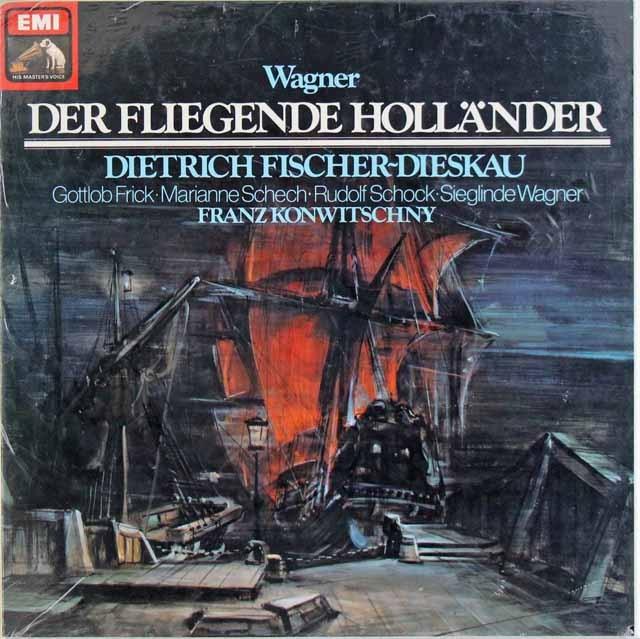 【未開封】コンヴィチュニーのワーグナー/「さまよえるオランダ人」全曲  独EMI 3009 LP レコード