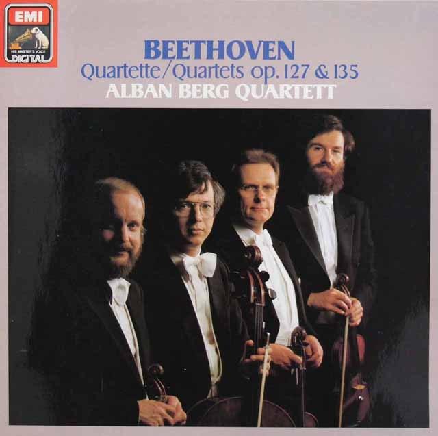 アルバン・ベルク四重奏団のベートーヴェン/弦楽四重奏曲第12&16番  独EMI 3011 LP レコード