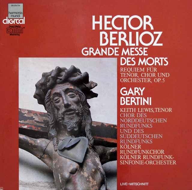 ベルティーニのベルリオーズ/「死者のための大ミサ曲」 独HM 3392 LP レコード