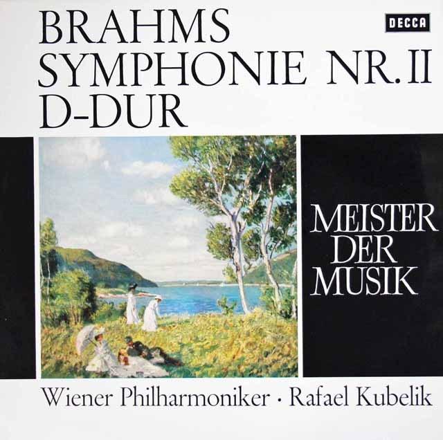 クーベリックのブラームス/交響曲第2番   独DECCA 3011 LP レコード