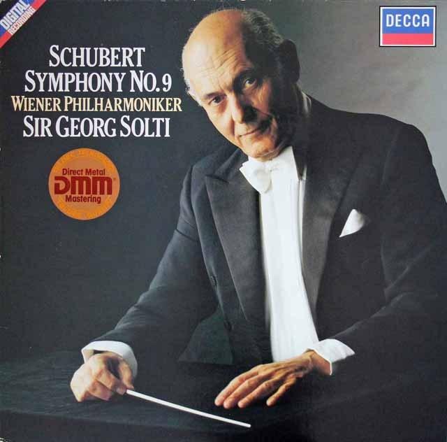 ショルティのシューベルト/交響曲第9番「ザ・グレート」   独DECCA 3392 LP レコード