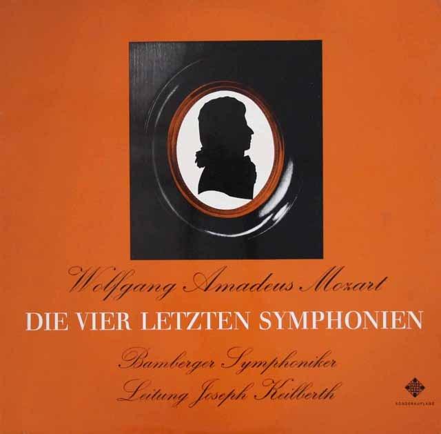 カイルベルトのモーツァルト/交響曲第38~41番   独TELEFUNKEN 3011 LP レコード