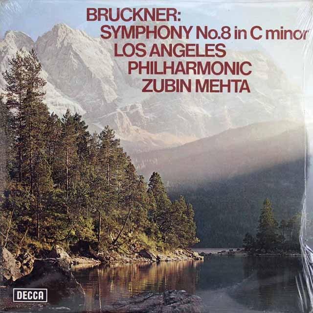 【未開封】メータのブルックナー/交響曲第8番 英DECCA 3012 LP レコード