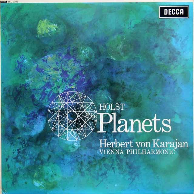 カラヤンのホルスト/「惑星」 英DECCA 3012 LP レコード