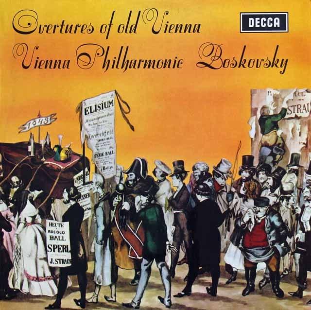 【オリジナル盤】ボスコフスキーの序曲集 英DECCA 3012 LP レコード