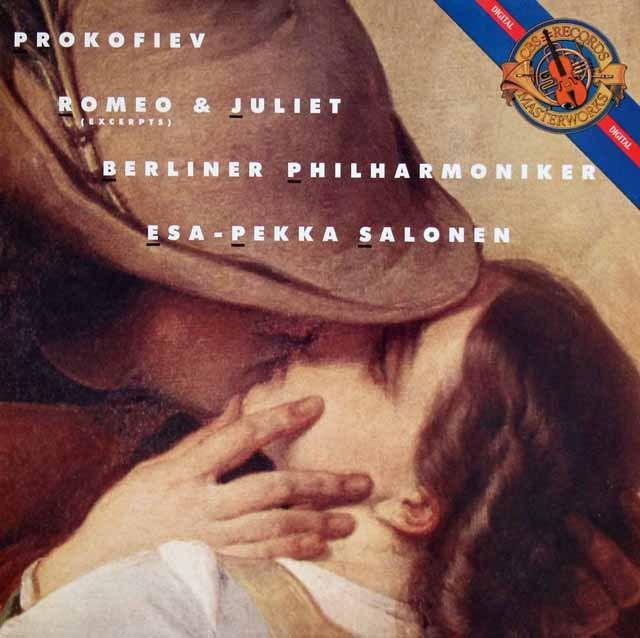 サロネンのプロコフィエフ/「ロミオとジュリエット」抜粋 蘭CBS 3392 LP レコード