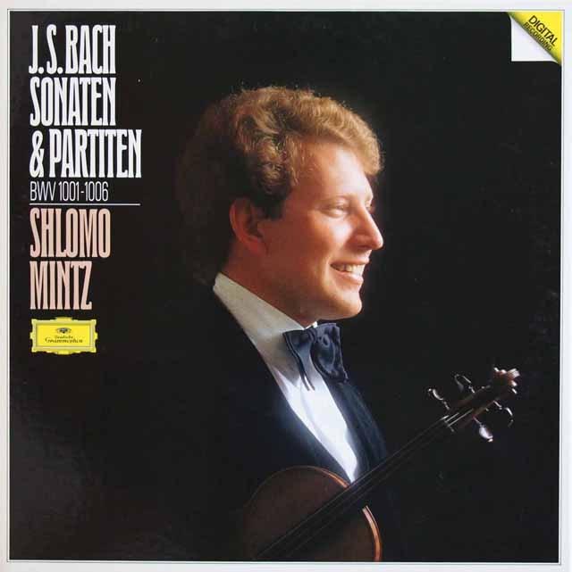 ミンツのバッハ/無伴奏ヴァイオリンソナタとパルティータ集 独DGG 3012 LP レコード