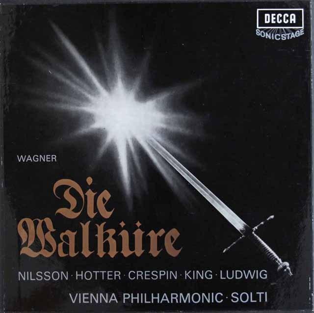 ショルティのワーグナー/「ワルキューレ」全曲 英DECCA 3012 LP レコード