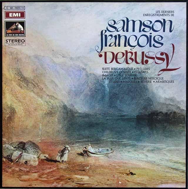 フランソワのドビュッシー/ピアノ作品集 仏EMI 3012 LP レコード