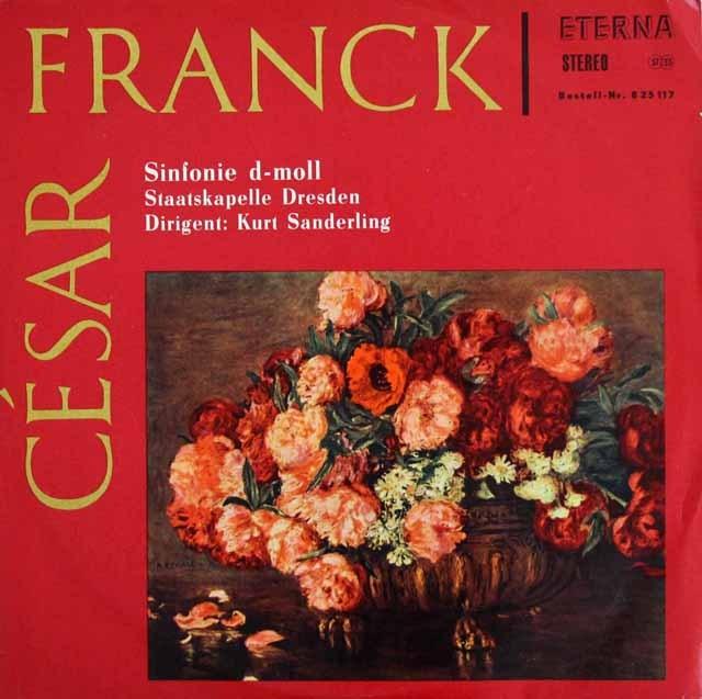 ザンデルリンクのフランク/交響曲ニ短調 独ETERNA 3013 LP レコード