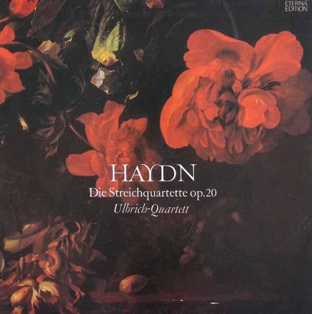 ウルブリヒ四重奏団のハイドン/「太陽四重奏曲」 独ETERNA 3013 LP レコード