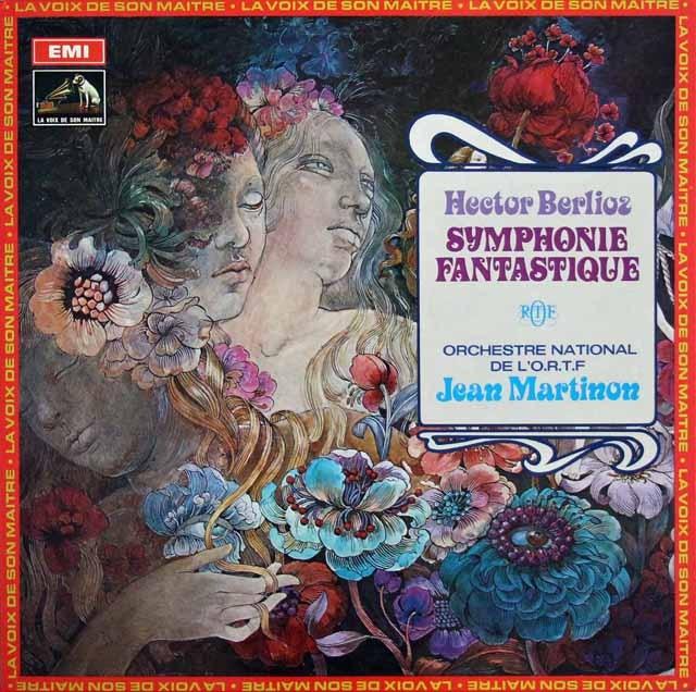 マルティノンのベルリオーズ/幻想交響曲 仏EMI(VSM) 3013 LP レコード