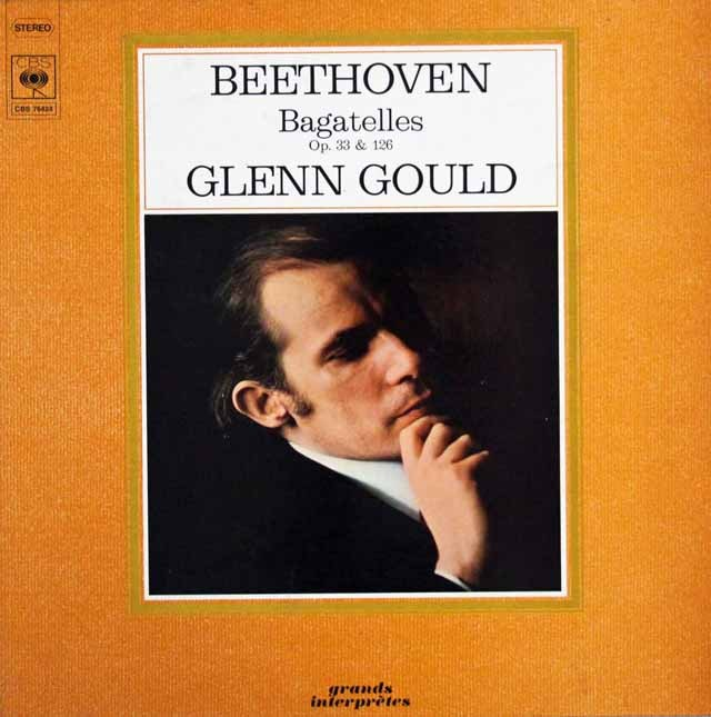 グールドのベートーヴェン/バガテル集 仏EMI 3013 LP レコード