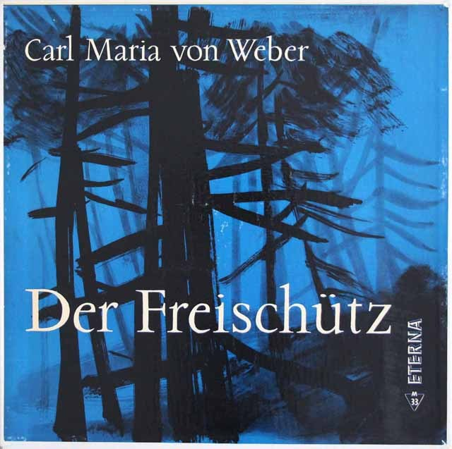 【テストプレス】カイルベルトのウェーバー/「魔弾の射手」全曲 独ETERNA 3013 LP レコード
