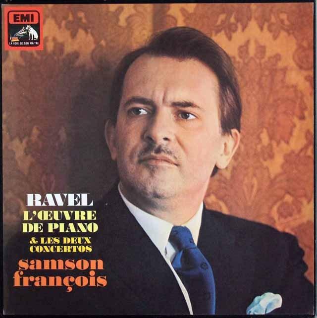 フランソワのラヴェル/ピアノ作品集(特典盤つき) 仏EMI(VSM) 3013 LP レコード