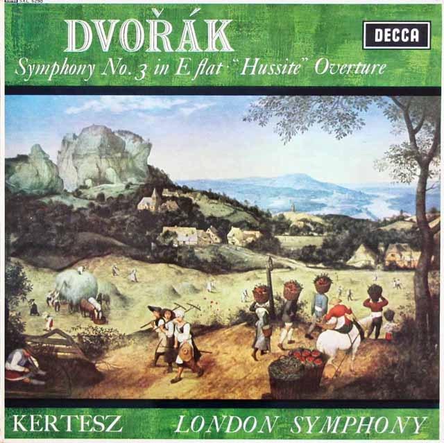ケルテスのドヴォルザーク/交響曲第3番ほか 英DECCA 3391 LP レコード