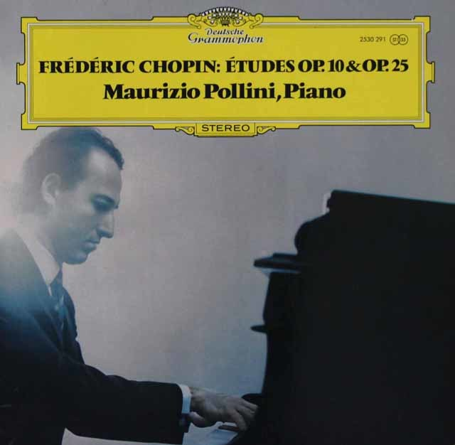 ポリーニのショパン/12の練習曲 独DGG 3105 LP レコード