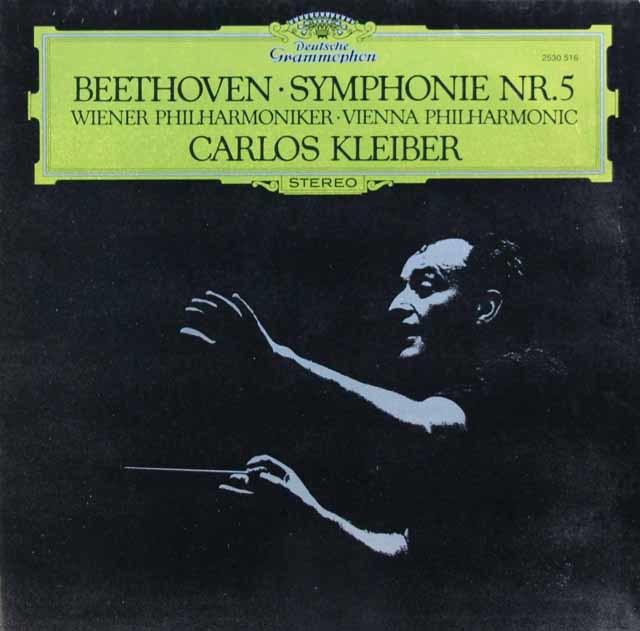 クライバーのベートーヴェン/交響曲第5番「運命」 独DGG 3105 LP レコード