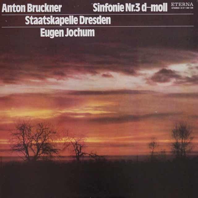 ヨッフムのブルックナー/交響曲第3番 独ETERNA 3105 LP レコード