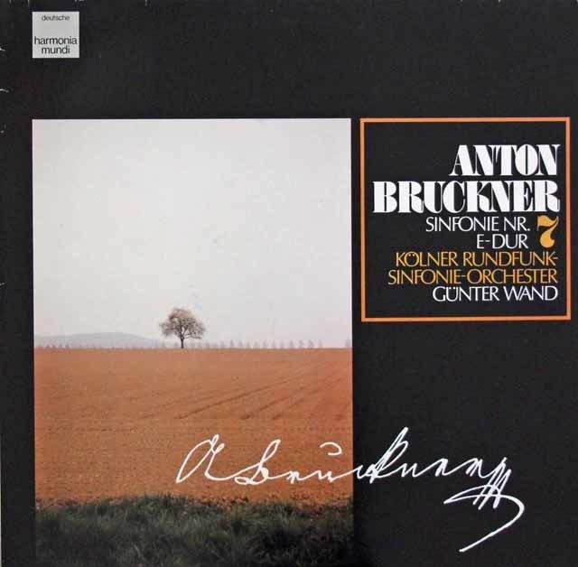 ヴァントのブルックナー/交響曲第7番 独HM 3105 LP レコード