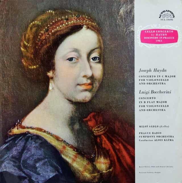 サードロのハイドン&ボッケリーニ/チェロ協奏曲集 チェコスロヴァキアSUPRAPHON 3105 LP レコード