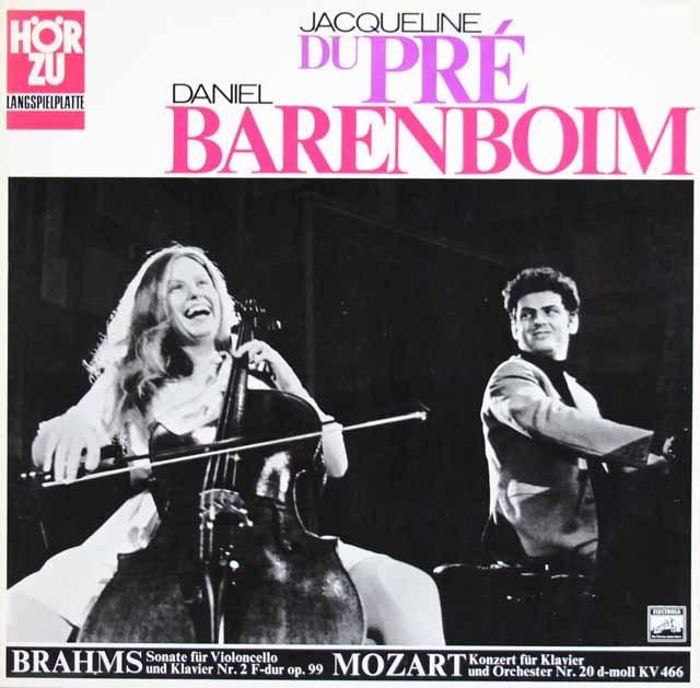 デュ・プレ&バレンボイムのブラームス/チェロソナタ第2番ほか 独HORZU 3015 LP レコード