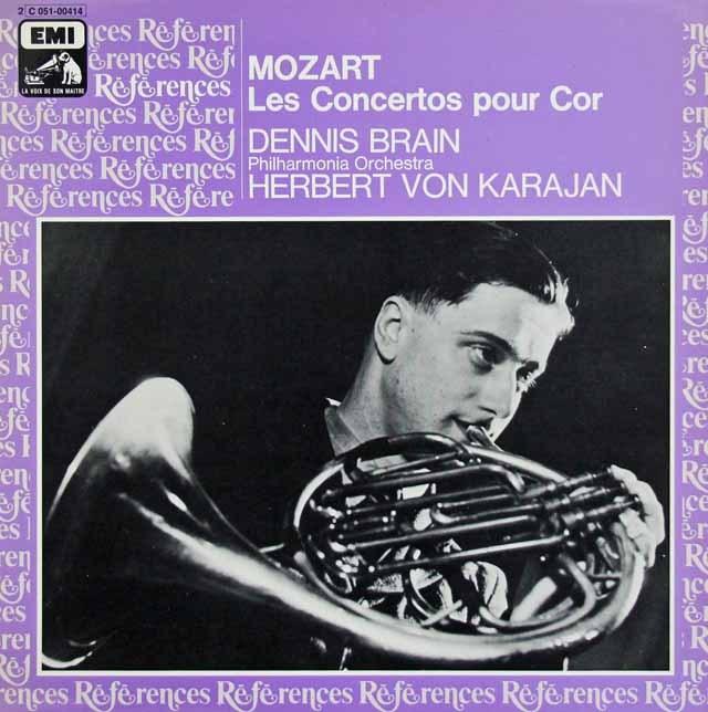 ブレイン&カラヤンのモーツァルト/ホルン協奏曲 仏EMI(VSM) 3015 LP レコード
