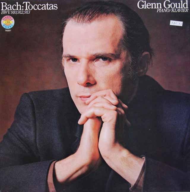 グールドのバッハ/トッカータ集 独CBS 3015 LP レコード