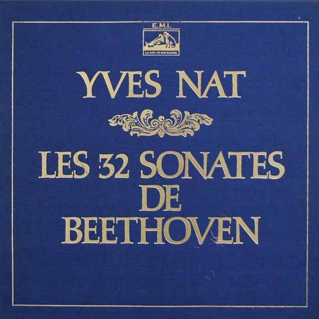 【モノラル】 ナットのベートーヴェン/ピアノソナタ集 仏EMI(VSM) 3391 LP レコード