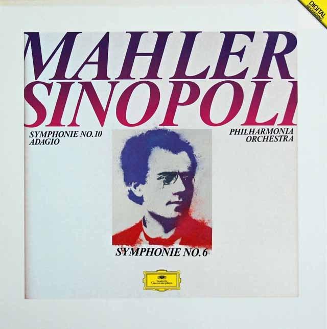 シノーポリのマーラー/第6番「悲劇的」 ほか 独DGG 3016 LP レコード