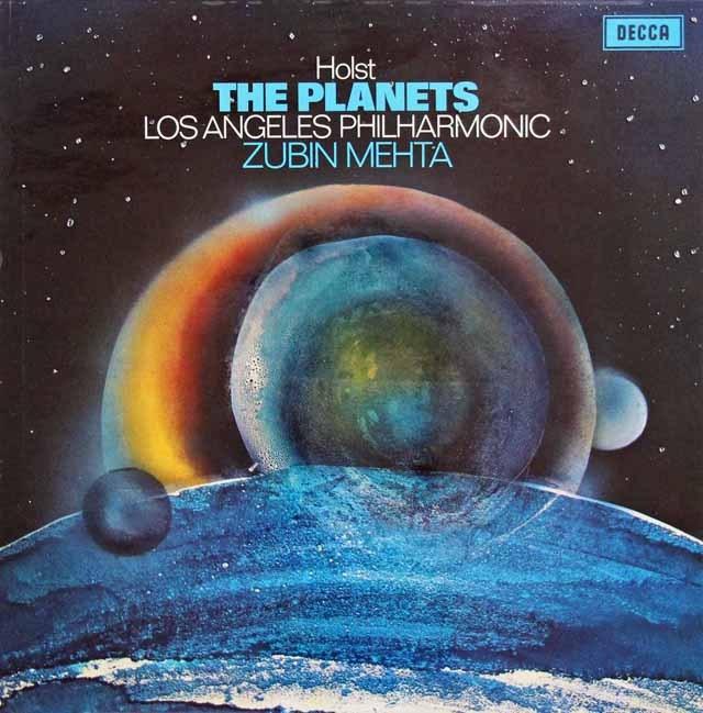 【オリジナル盤】メータのホルスト/「惑星」  英DECCA 3016 LP レコード