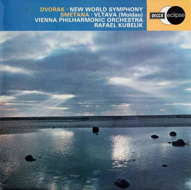 クーベリックのドヴォルザーク/交響曲第9番「新世界より」 英DECCA 3391 LP レコード