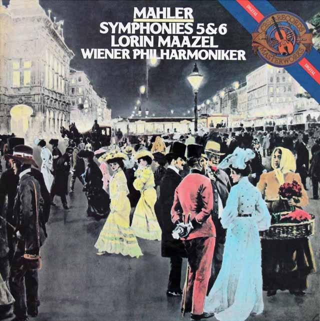 マゼールのマーラー/交響曲第5、6番 蘭CBS 3391 LP レコード