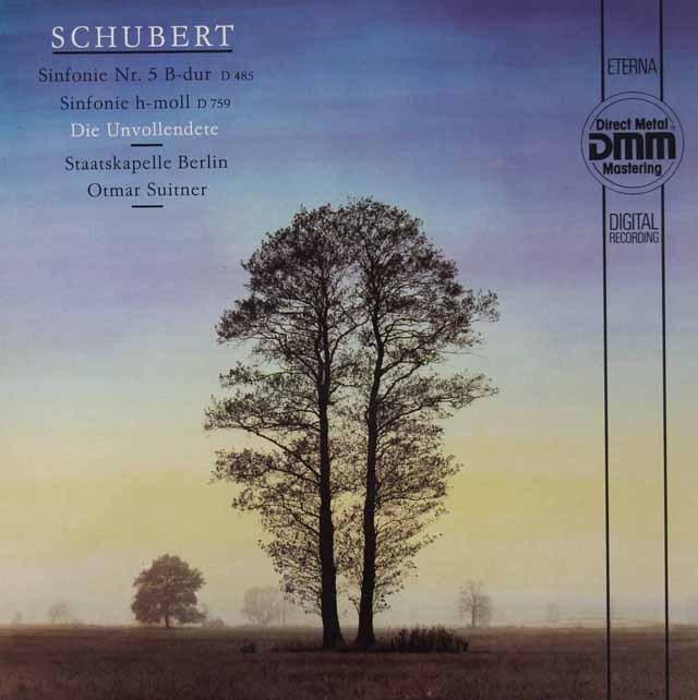 スウィトナーのシューベルト/交響曲第5&7番「未完成」  独ETERNA 3020 LP レコード