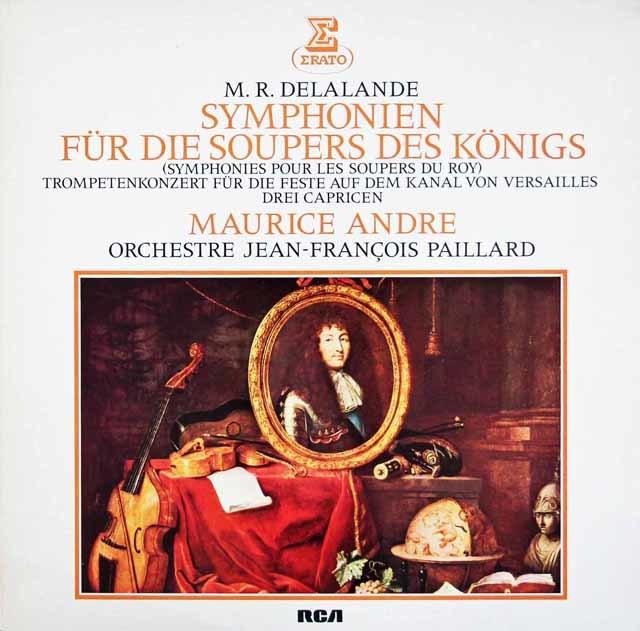 アンドレ&パイヤールらのドラランド/「王宮のためのサンフォニー」  独ERATO 3020 LP レコード