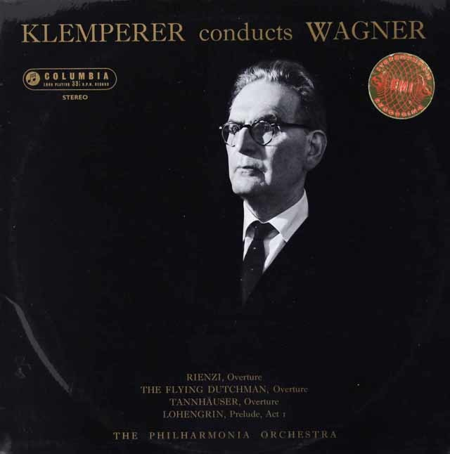 【オリジナル盤】クレンペラーのワーグナー/序曲・前奏曲集   英Columbia 3021 LP レコード