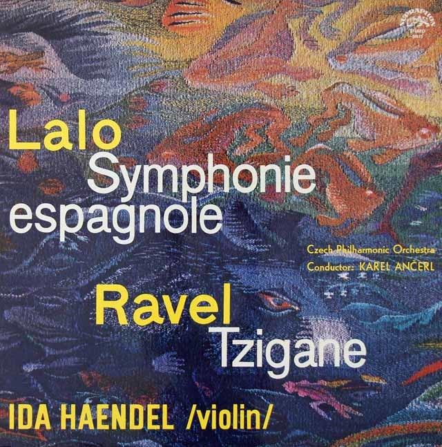 イダ・ヘンデル&アンチェルのラロ/スペイン交響曲ほか   チェコSUPRAPHON 3021 LP レコード
