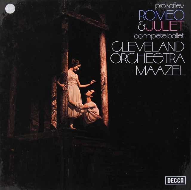 マゼールのプロコフィエフ/「ロミオとジュリエット」  英DECCA 3022 LP レコード