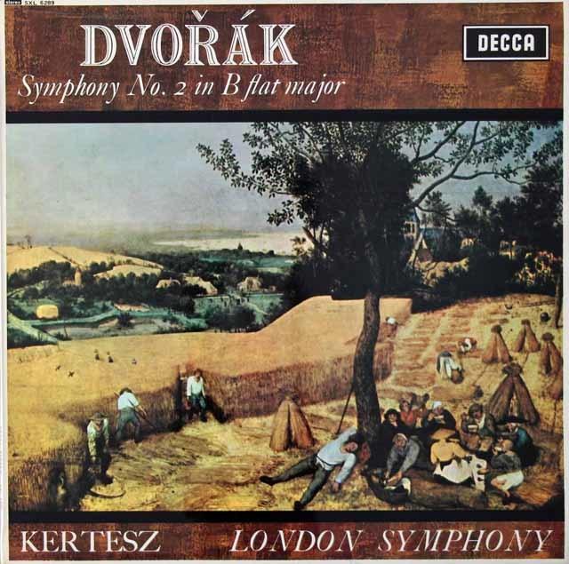 ケルテスのドヴォルザーク/交響曲第2番  英DECCA 3022 LP レコード