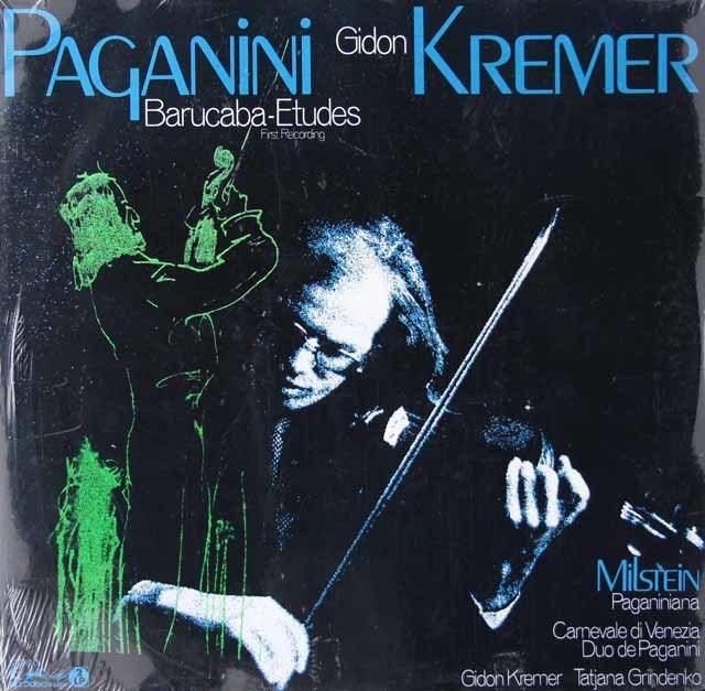 【未開封】 クレーメルのパガニーニ/「バルカバ」による60の変奏曲ほか 独eurodisc 3022 LP レコード