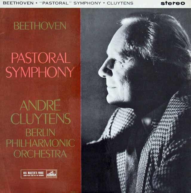 クリュイタンスのベートーヴェン/交響曲第6番「田園」  英EMI 3024 LP レコード