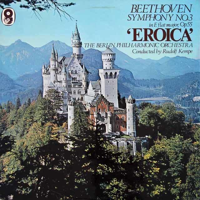 ケンペのベートーヴェン/交響曲第3番「英雄」    英WRC 3024 LP レコード