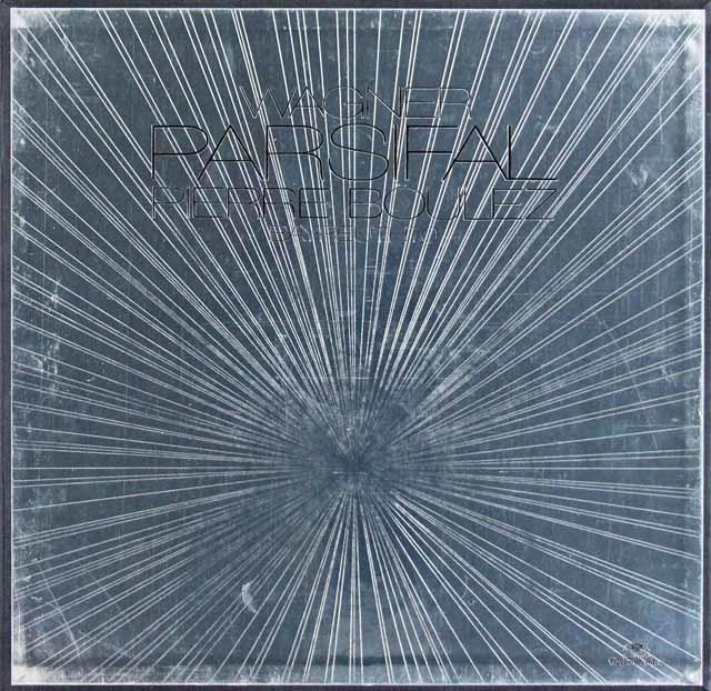 ブーレーズのワーグナー/「パルジファル」全曲  独DGG 3024 LP レコード