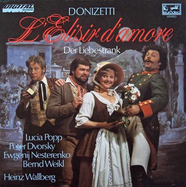 ポップらのドニゼッティ/「愛の妙薬」全曲   独eurodisc 3024 LP レコード